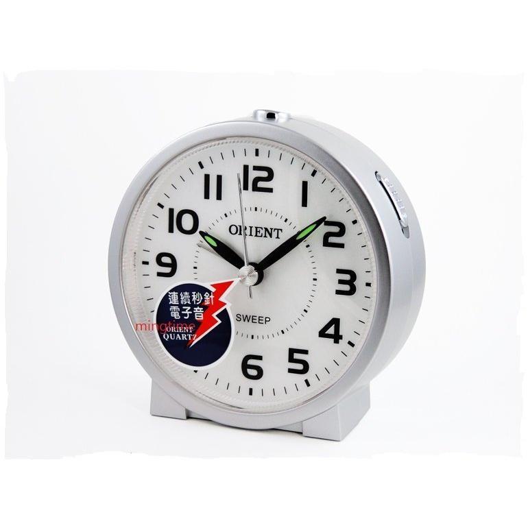 ~ORIENT ~東方ORIENT BEEP 聲響靜音時鐘鬧鐘AQ730 AQ 730 銀