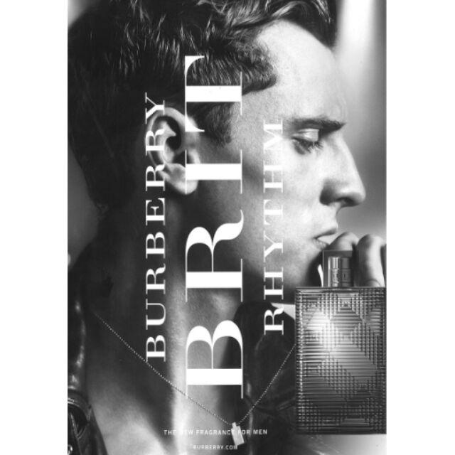 搖滾風格~BURBERRY ~BRIT RHYTHM MEN 搖滾風格男性淡香水5ml