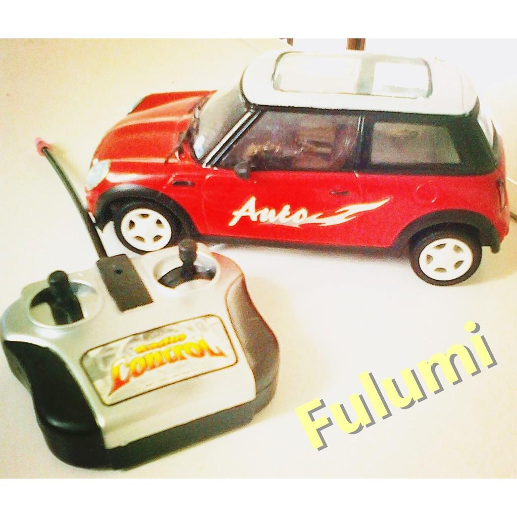 遙控車紅色汽車模型電動生日送禮節慶 收藏 品朋友情人大人男女老少小孩兒童最愛 放久外盒破損