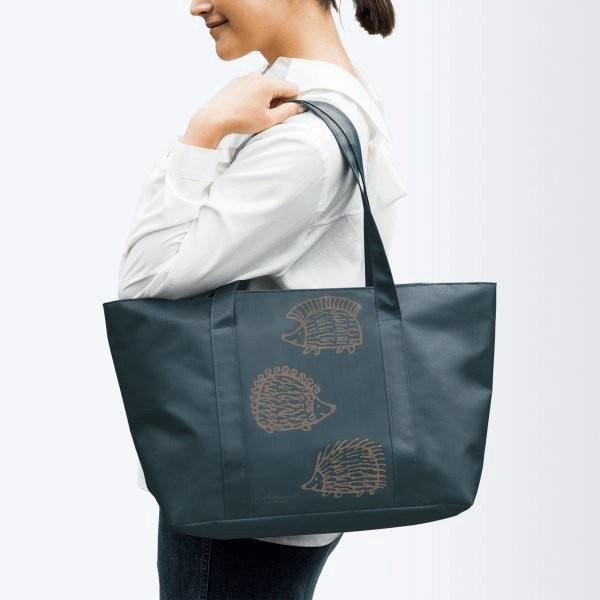 ~Juicy ~ 北歐風Lisa Larson 刺蝟MIKEY 托特包 袋環保袋旅行袋無掛
