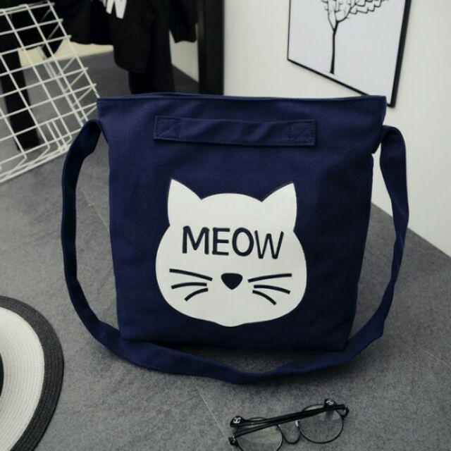 貓頭側背包❤CAT s 貓森❤  MEOW 喵貓咪側背包斜背包肩背包2 色︳臺灣自創品牌