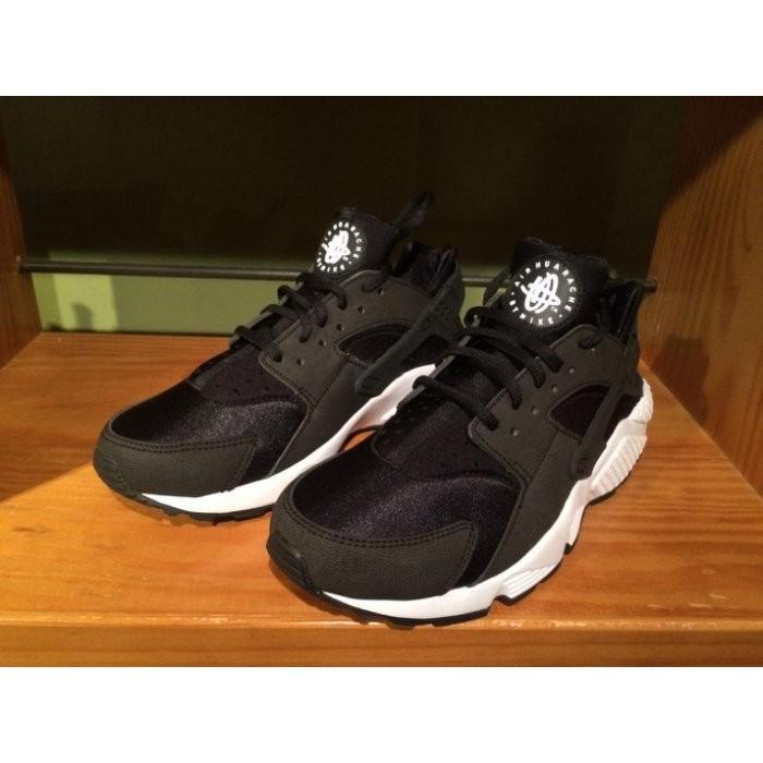 【 實拍】Air Huarache 華萊士黑武士慢跑鞋 黑白跑步鞋休閒 鞋