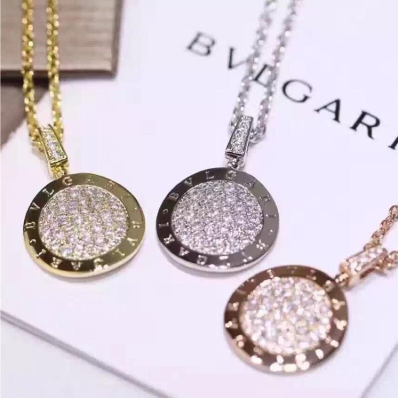 工藝18K 玫瑰金項鍊925 純銀白金密鑲鑽石古幣銘文頸項鍊情人節 生日 V1C50