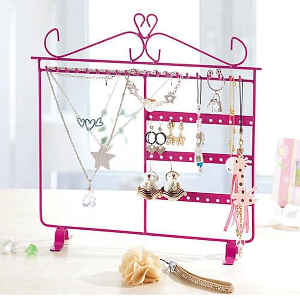 歐洲宮廷風格可愛公主飾品架耳環架項鍊架吊飾架展示架首飾架