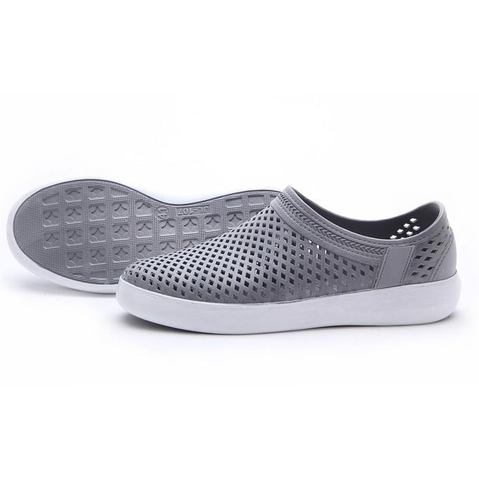 涼鞋男士休閒防水塑料塑膠網面洞洞鞋鏤空沙灘鞋子男