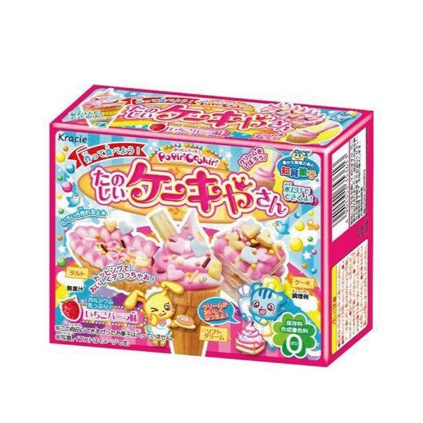 Kracie 知育果子DIY 蛋糕屋26g 動手作冰淇淋蛋糕甜點 零食~櫻桃飾品~~202