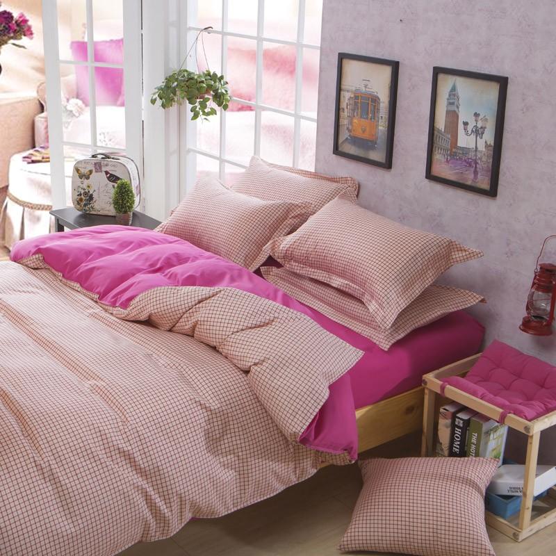 蜜桃馬卡龍款床包床組單人雙人雙人加大雙人特大四件組 7 14 個工作天AB01