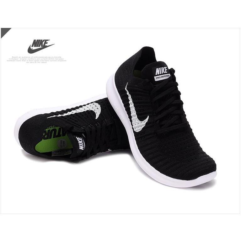 Nike Free Flyknit NSW 5 0 赤足輕量編織飛線Nike 鞋慢跑鞋黑