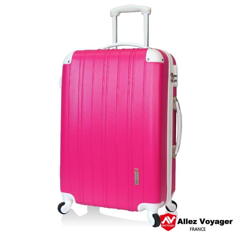 ~ ~ 撞色不撞箱耐磨抗壓行李箱多色系旅行箱20 吋登機箱密碼鎖萬向輪拉桿箱~法國奧莉薇閣