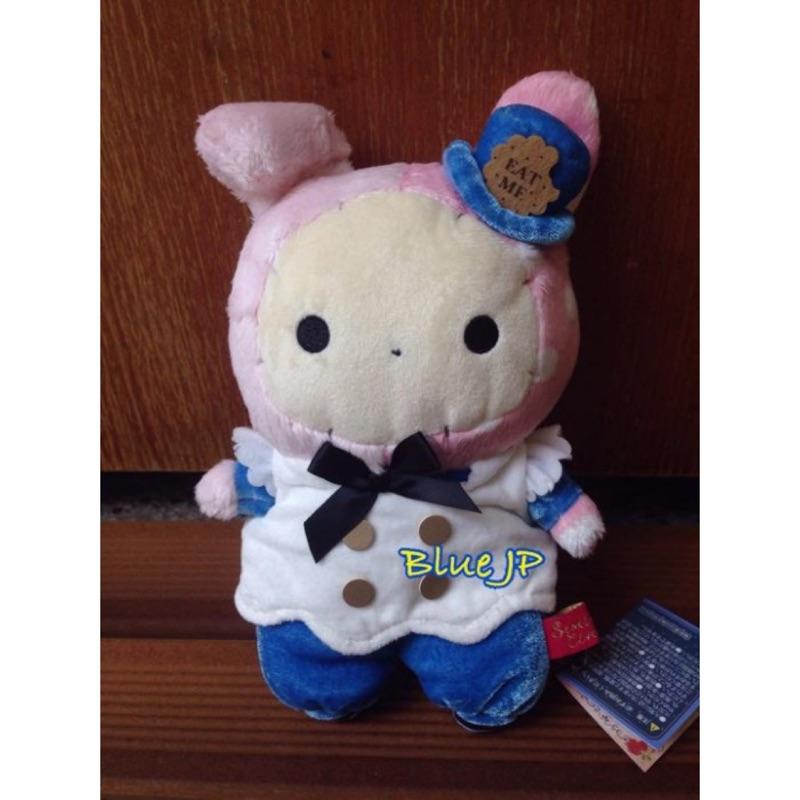 Blue JP 小藍日貨 深情馬戲團憂傷馬戲團波波兔憂憂兔變裝愛麗絲玩偶娃娃Sentime