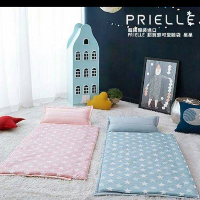 藍色星星韓國 PRIELLE 超 可愛睡袋星星款