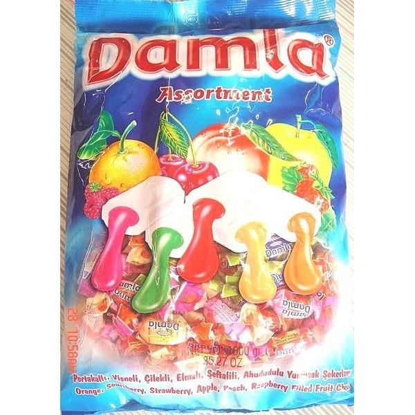 糖果餅乾屋土耳其 黛瑪拉什錦軟糖丹樂綜合水果夾心軟糖量販 價1000g165 元有售福義軒