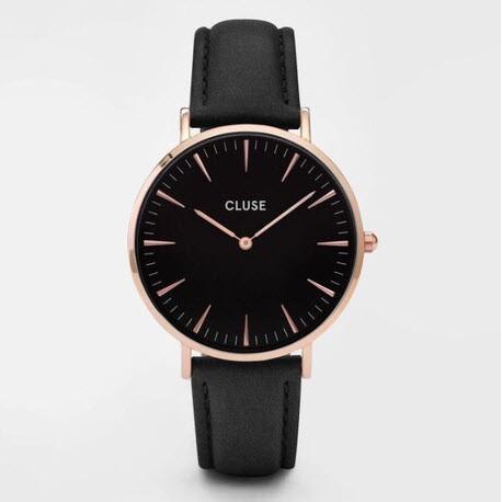 ~ ~韩款男女神CLUSE 手錶荷蘭腕錶情侶手錶石英表 專櫃38MM
