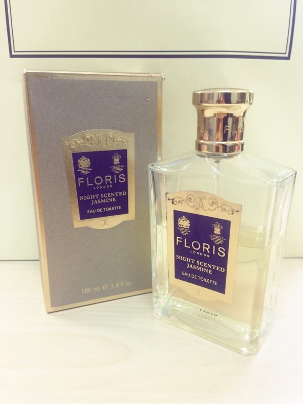 ~Floris ~Night scented jasmine 月夜茉莉試香