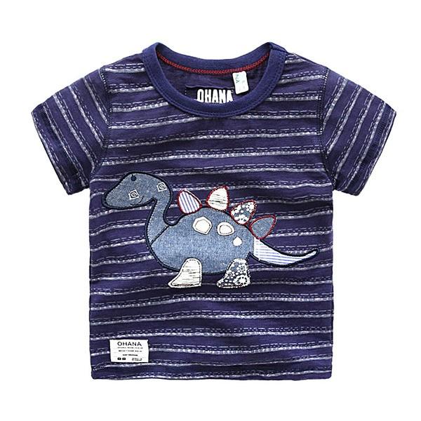 男童短袖體恤2016 潮 寶寶圓領上衣兒童舒適T 恤薄款夏裝