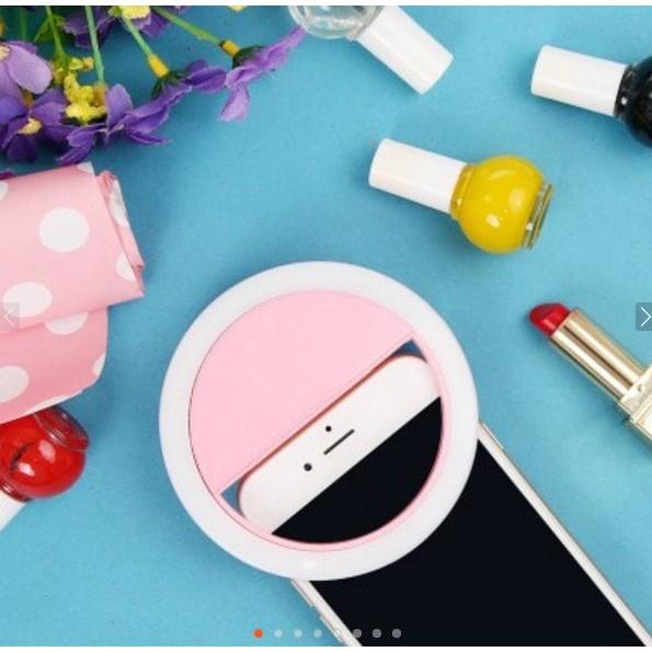 ~ ~實拍手機補光燈美顏 燈手機TR 補光燈LED 神器iPhone 充電USB 直播手機