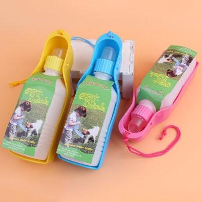 ~~kiki 寵物 館~~貓咪狗狗外出用水壺輕便水碗寵物外出飲水器便攜式飲水壺水盆飲水瓶Z