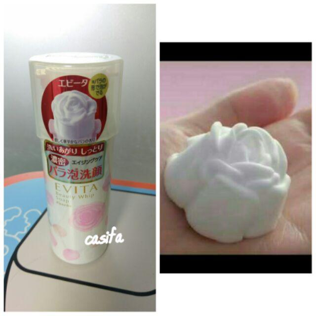 美妝Evita 艾微塔玫瑰泡沫洗面乳150g