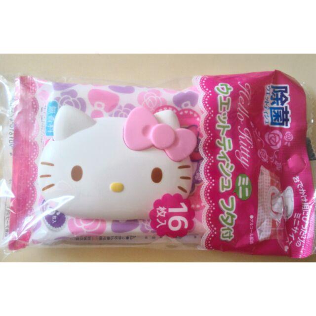 三麗鷗Sanrio Kitty Melody 蛋黃哥紙巾蓋16 枚濕紙巾 包臉款重覆黏貼蓋