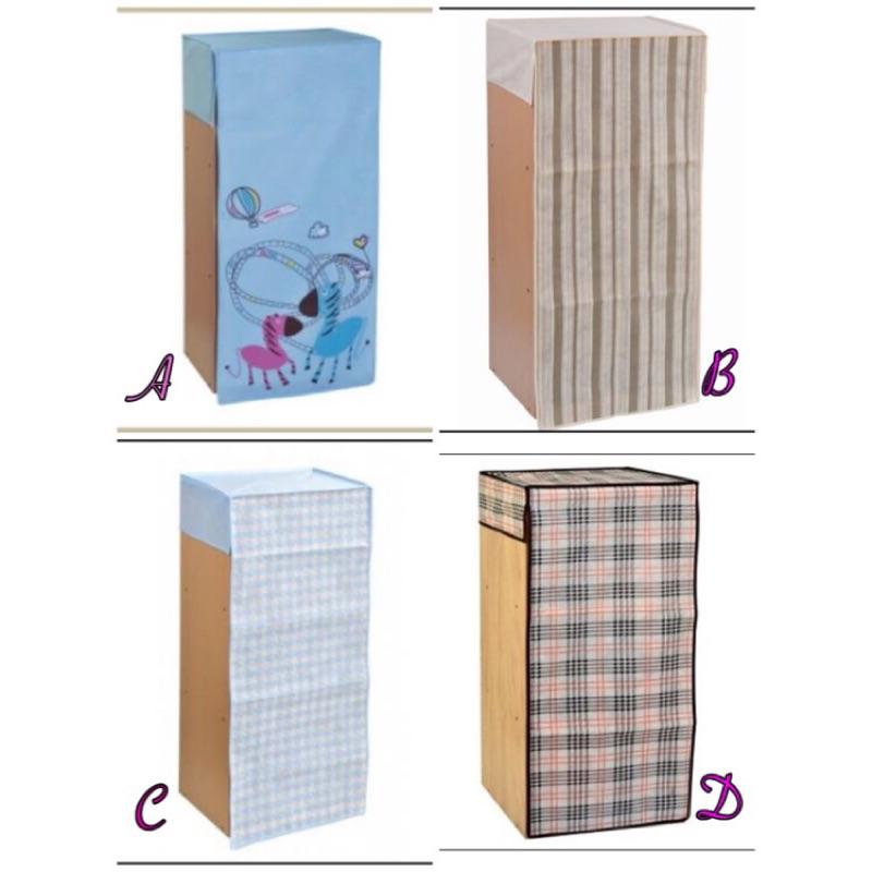 2 入收納櫃防塵套三層櫃三空櫃防塵套 裝飾布套子