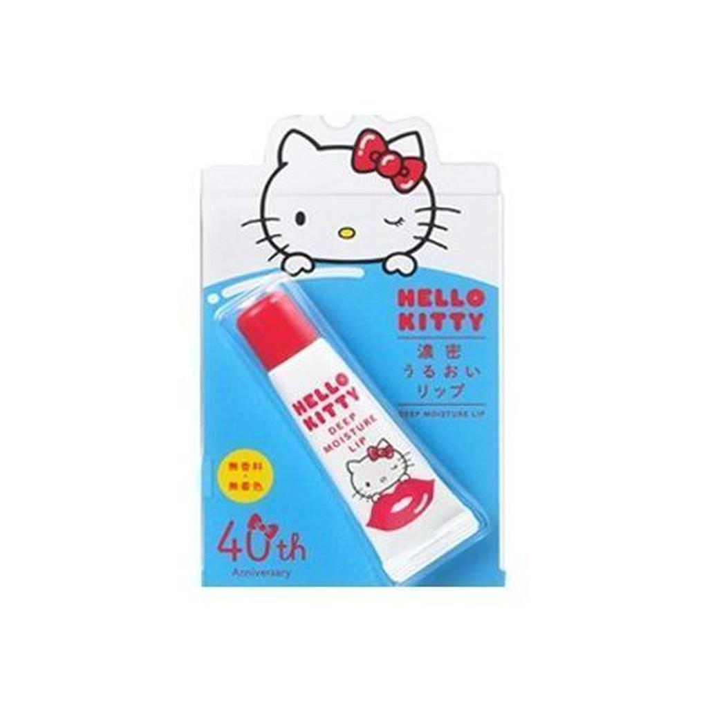 資生堂Hello Kitty 濃潤保濕護唇膏5 5G ~KT 限定版~ 超保濕~棉花糖美妝