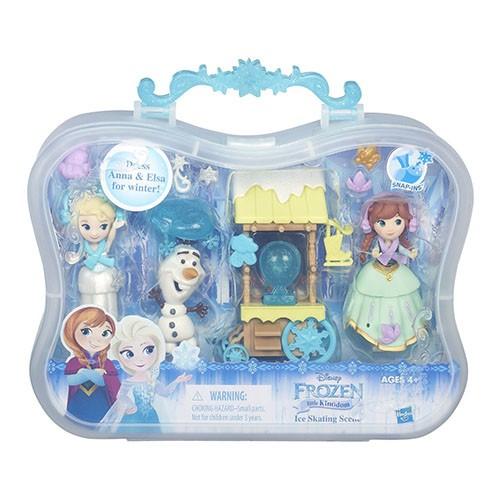 ~合川玩具~Disney 迪士尼冰雪奇緣迷你公主及情境組冰雪場景組