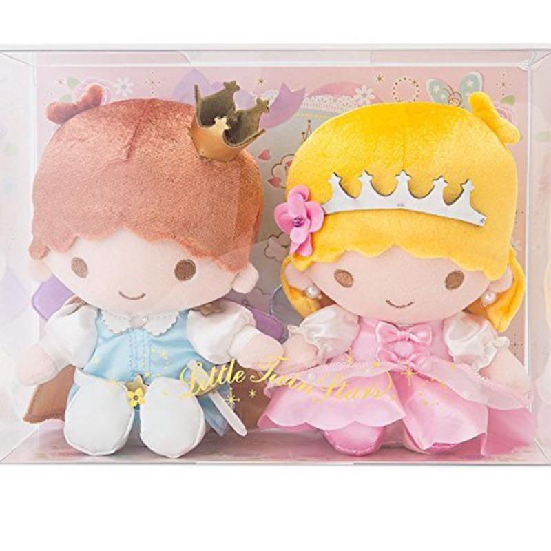 ~Amigo Gift 朋友 ~ 三麗鷗雙子星kiki lala 絨毛娃娃絨毛玩偶組擺飾