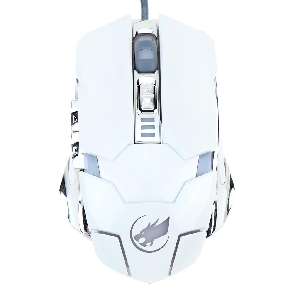 烽火狼3200dpi 可調 USB 有線遊戲滑鼠