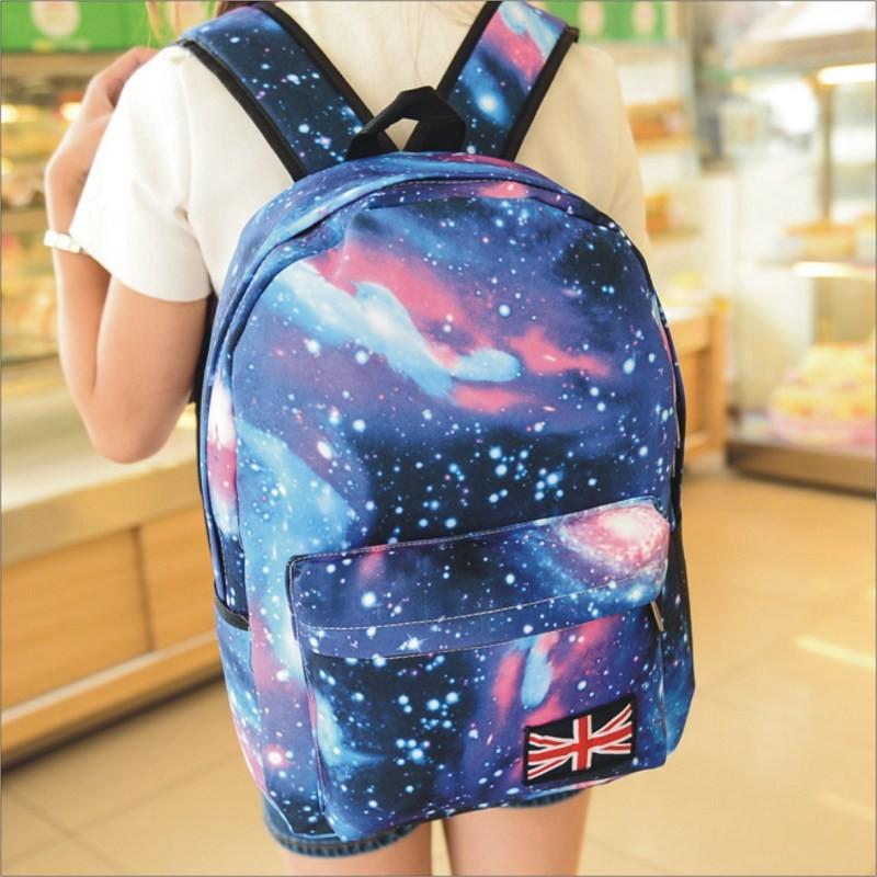 販售~星空後背包~心罐子~ 後背包書包旅行包休閒包包
