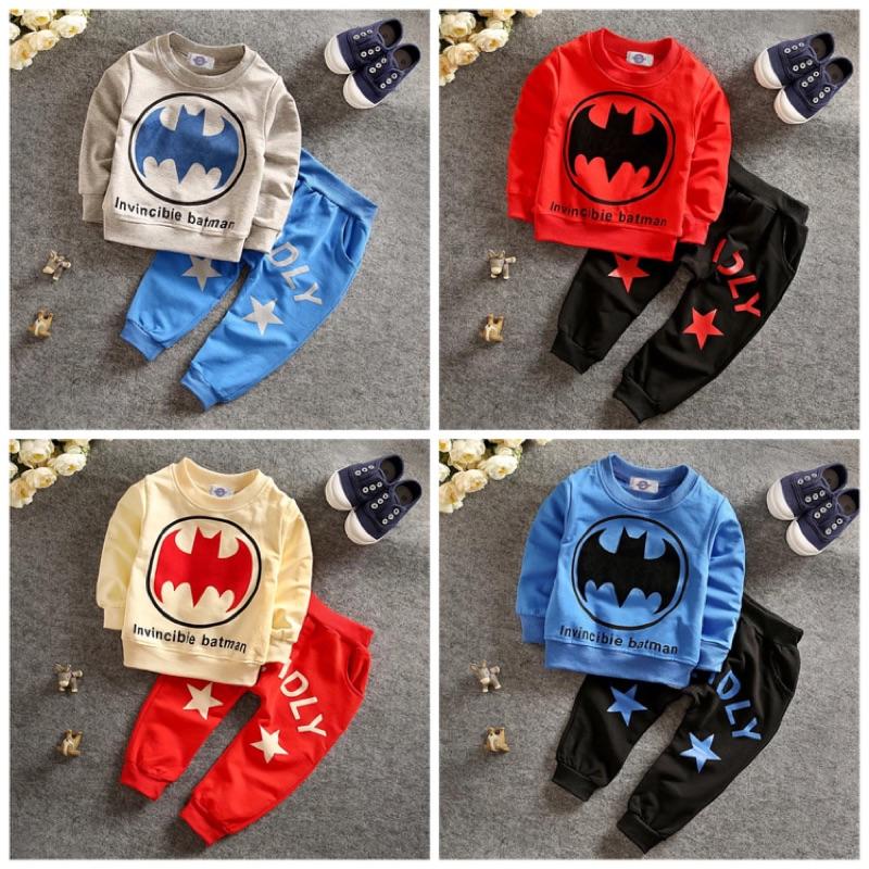 男女寶寶蝙蝠俠套裝