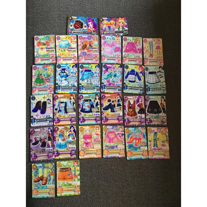 偶像學園第二季第六彈第四彈普卡N 卡全套28 張卡片掉機台即妥善保存未刷含3 張頭飾