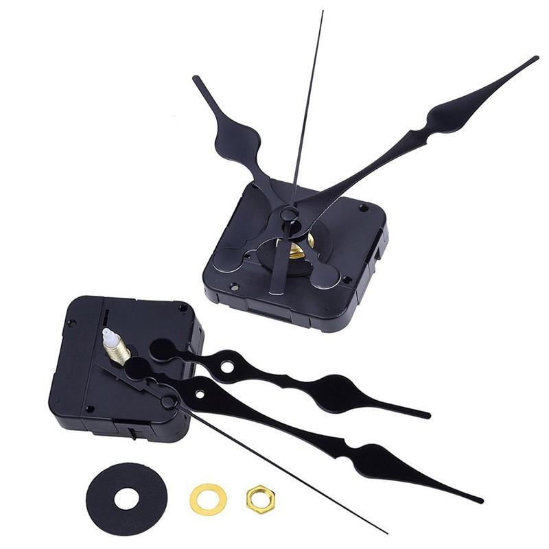 石英時鐘機芯黑色3 10 英吋 刻度