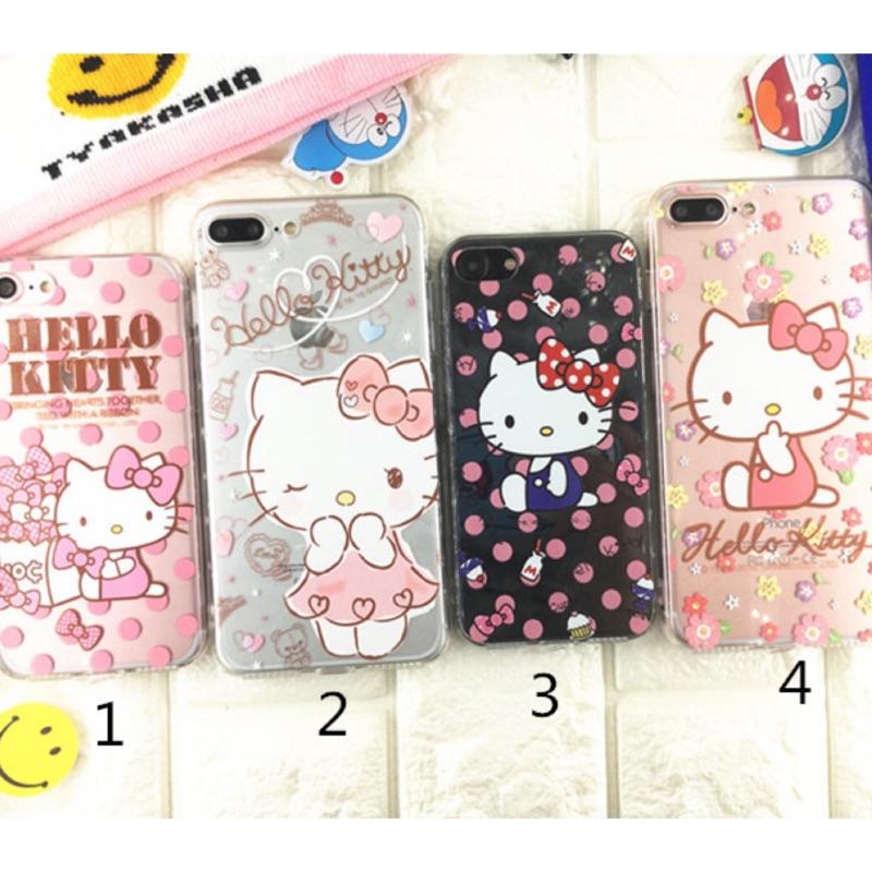 Hello Kitty 粉色系列~iphone7 iphone7plus 手機保護套手機殼