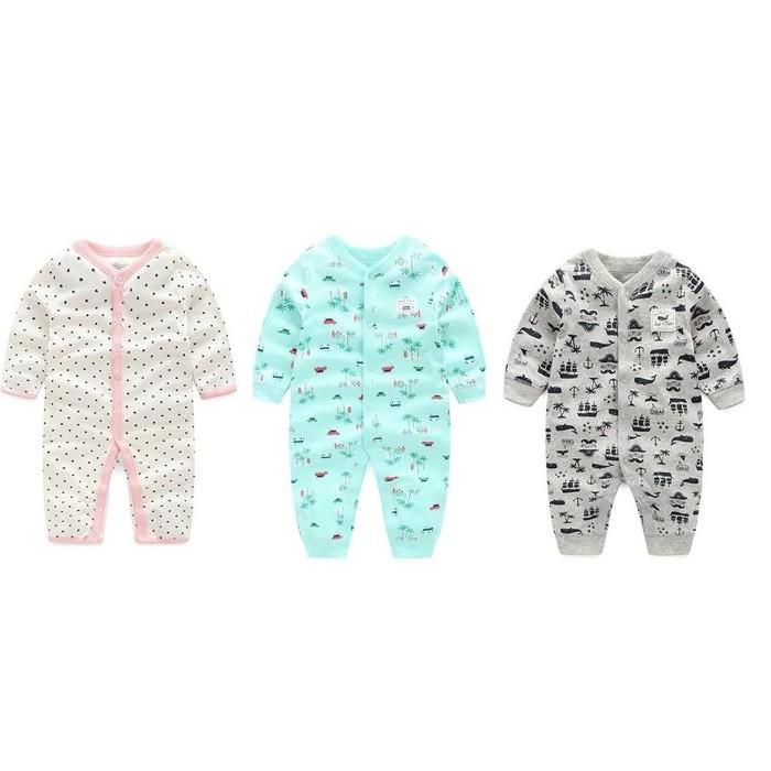 卡特2016  純棉寶寶衣服 風長袖平角哈衣嬰兒爬服男寶寶連身衣女寶寶兔裝