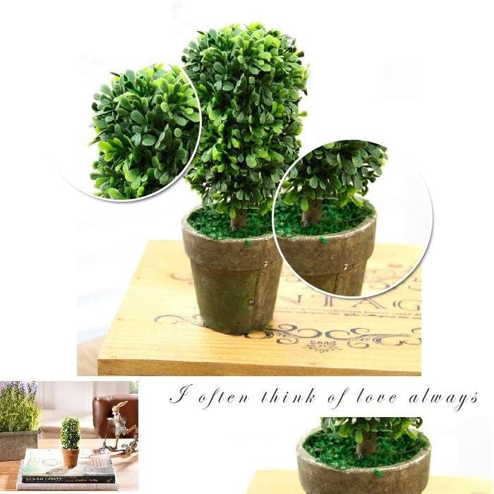 QW314 仿真小盆栽仿真植物盆景樹zakka 盆栽家居裝飾擺飾植物人造草仿真樹仿真盆栽