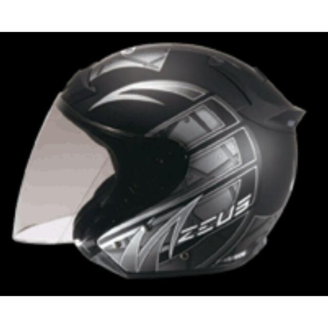 ZEUS ZS 609 消光黑底I13 銀輕巧完美柔軟舒適