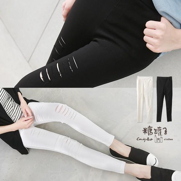 糖罐子 398 199 割破口袋縮腰鉛筆褲→ ~KK4777 ~