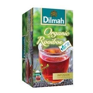 即享萌茶Dilmah 帝瑪南非國寶茶20 茶包盒 通過有機 無咖啡因