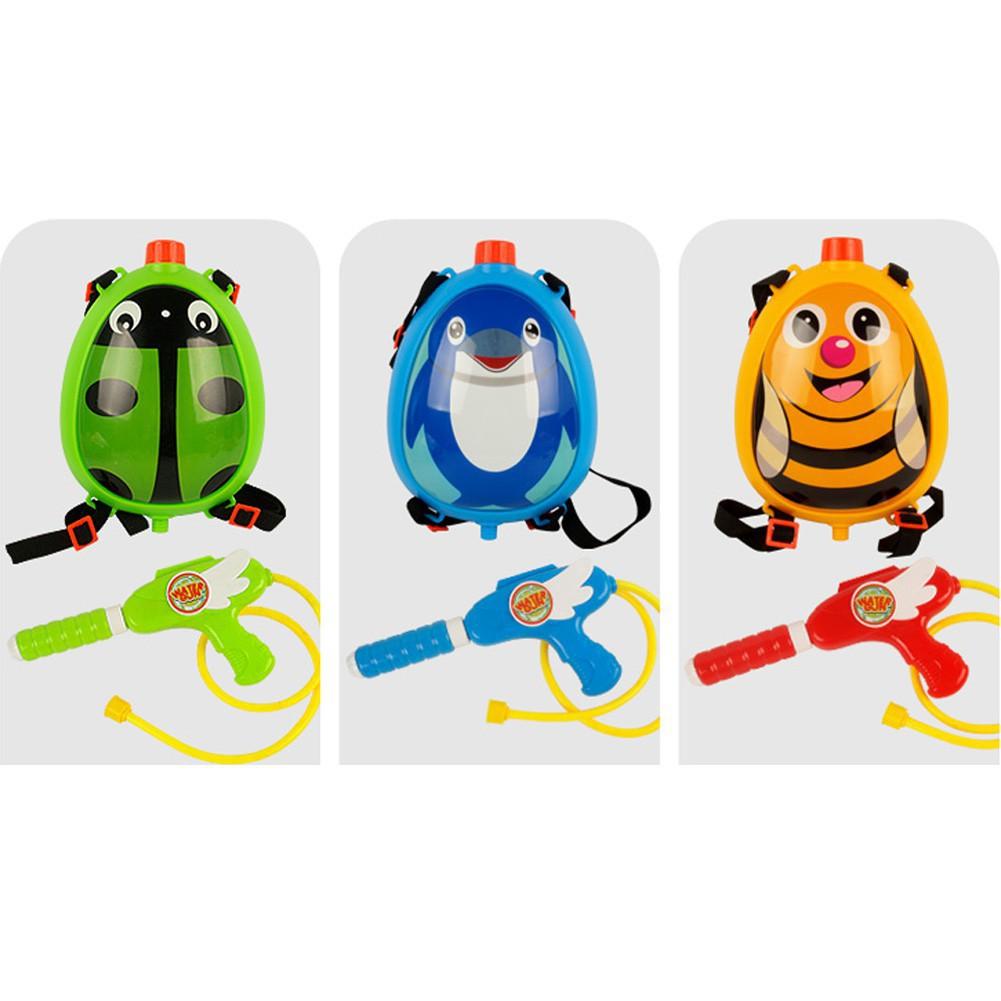 现货兒童海灘背包水槍玩具