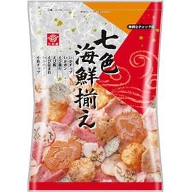 三河屋七色海鮮餅海鮮脆餅145g