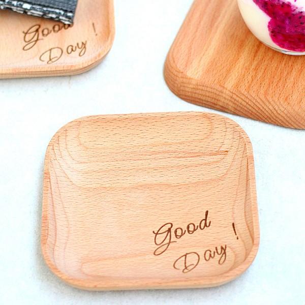 GOOD DAY 木盤點心盤托盤餐盤小點心盤水果盤Zakka 木托盤