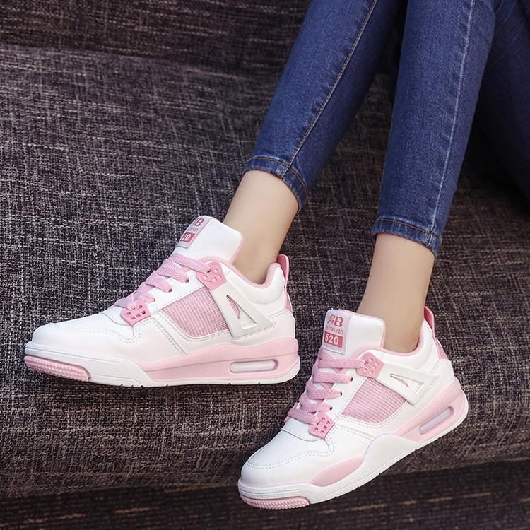 粉色白色黑色賣翻了 AJ 多 鞋慢跑鞋