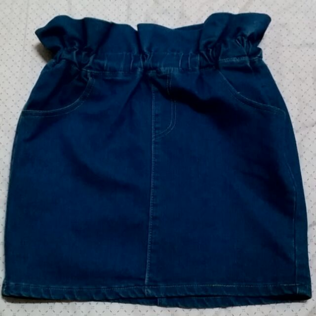 花苞口袋小短裙