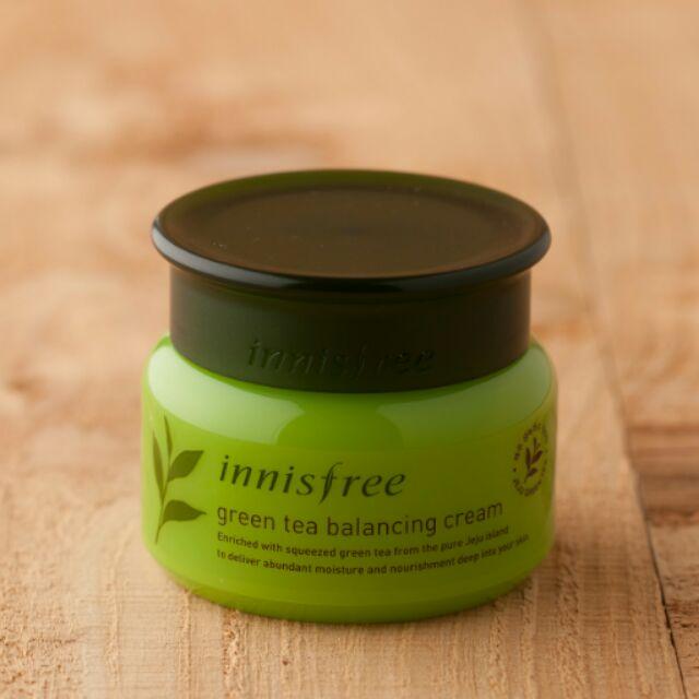 ~ ~ innisfree 綠茶水平衡面霜30ml :莎莉綠茶水平衡調理液柔膚水兔兔綠茶水