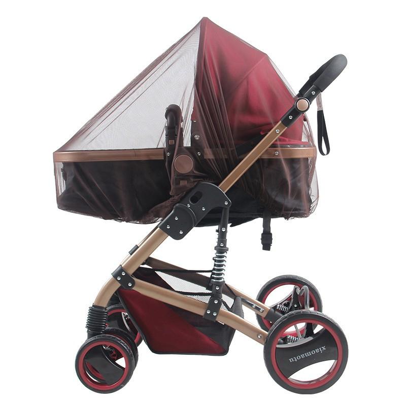 傘車童車嬰兒車 型全罩蚊帳加大加密加厚手推車BB 車防蚊蟲遮陽