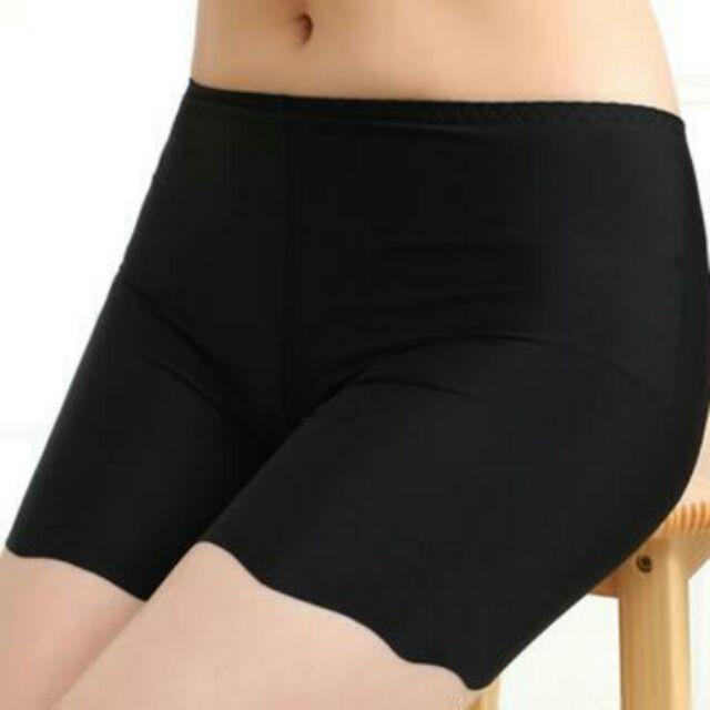 冰絲拉丁服裝安全底褲防走光三分安全褲保險褲A103300 28