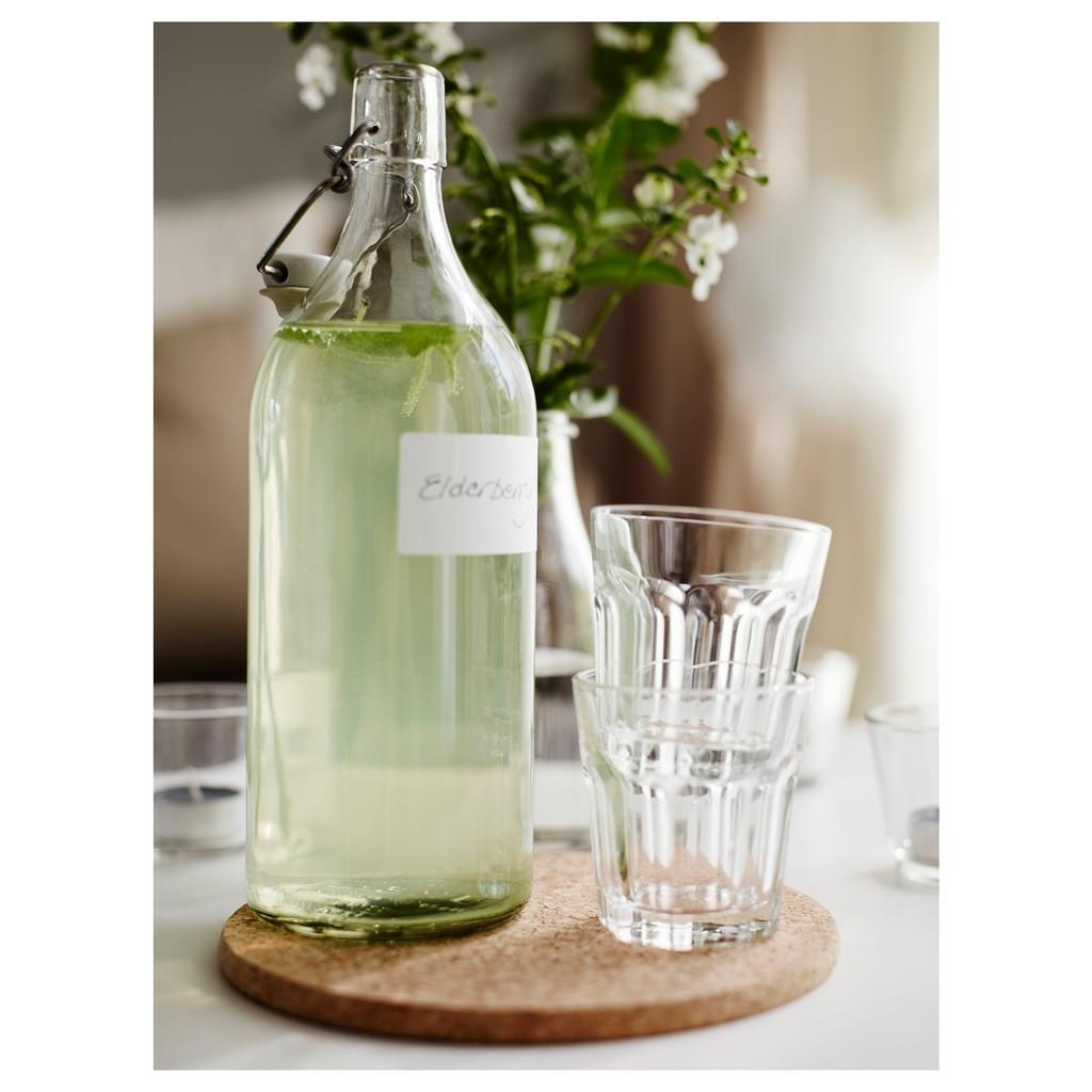不野餐要幹嘛 水瓶玻璃杯牛奶果汁密封玻璃瓶透明大容量冷熱飲料杯