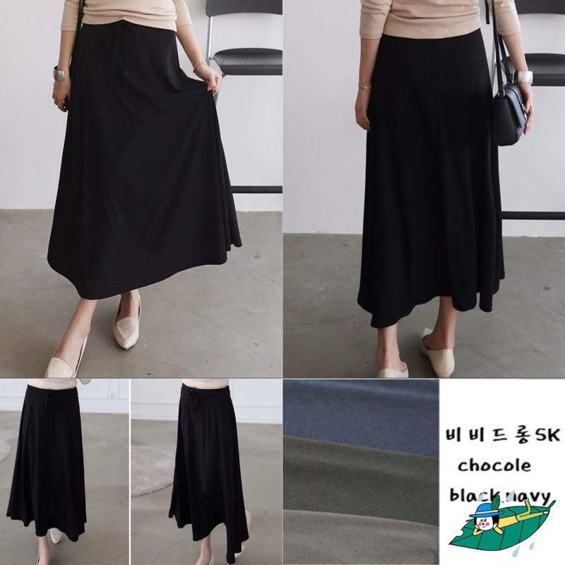 正韓簡單版型好,春夏 薄萊卡彈性棉質長裙,超滑超涼爽、彈性超級大, 980 ,連線價390