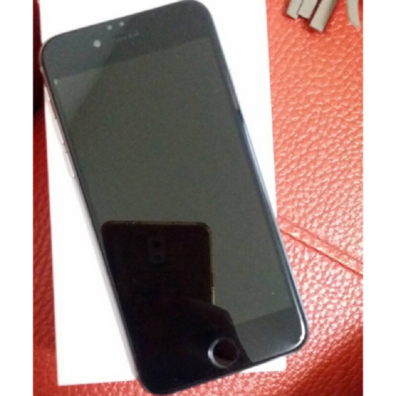 (已售出)自售iPhone6 4 7 寸16g 灰色 機外觀9 5 成新可