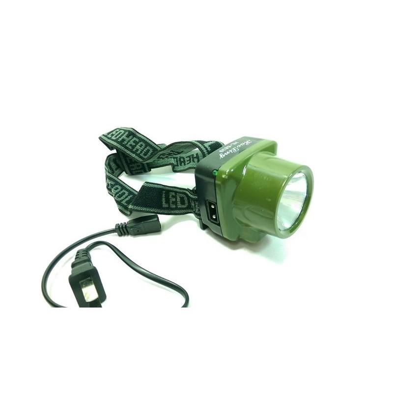 ~豪菱LED 充電頭燈HL 6839 ~334311 夾式頭燈閃爍警示閃爍夾帽燈露營燈自行